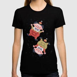 Tweedledee and Tweedledum - Alice in Wonderland T-shirt