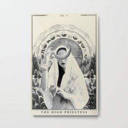 Fig. II - The High Priestess Metal Print