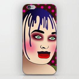 leigh bowery iPhone Skin