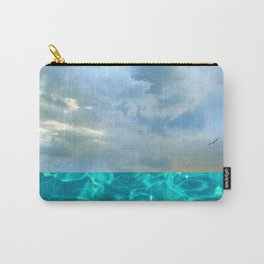 seascape 006: solo flight over swimming pool Carry-All Pouch