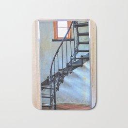 Admiralty Head Lighthouse Stairs Bath Mat