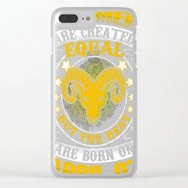 best-Men-Are-Born-on-April-07---Aries-Shirt---Sao-chép---Sao-chép Clear iPhone Case