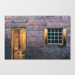 Tin Wall Canvas Print