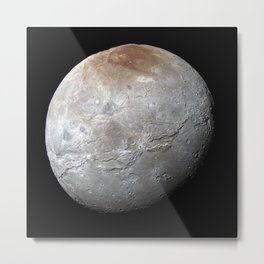 Charon Moon Metal Print