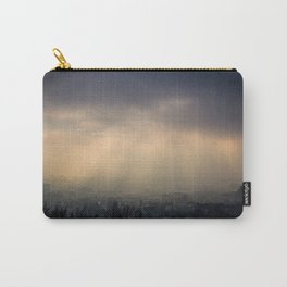 Fogged over Budapest Carry-All Pouch