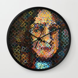 Gottfried Leibniz Wall Clock