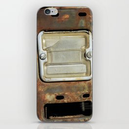 Detail: Rusted International 1 iPhone Skin