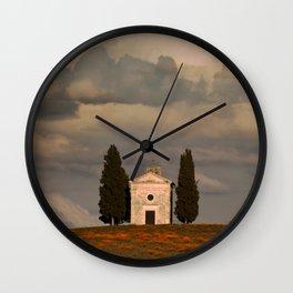 White Chapell Wall Clock