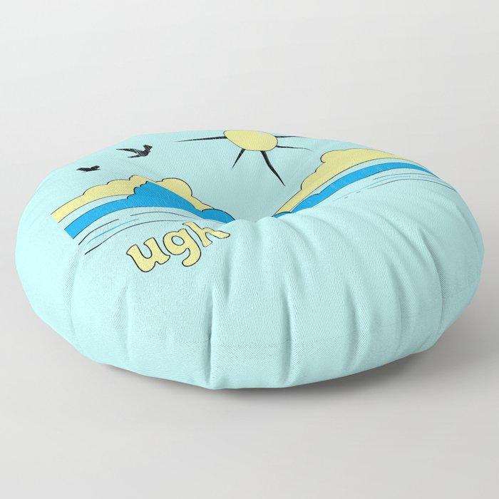 Ugh Floor Pillow