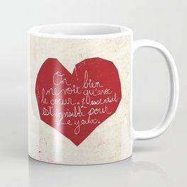 Le Cœur Coffee Mug