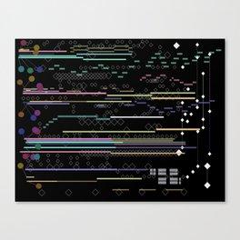 Techno Skin Canvas Print