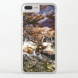 Fall in Patagonia, Argentina Clear iPhone Case