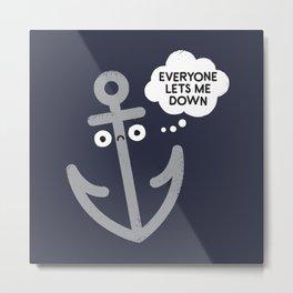 That Sinking Feeling Metal Print
