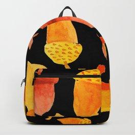 Acorns - Black Backpack