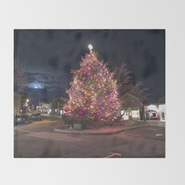 Rockport's Christmas tree 2015 Throw Blanket