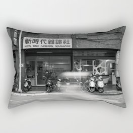 Motion In The Street Rectangular Pillow