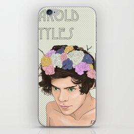 FlowerChild!Harry iPhone Skin