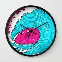 The Sea's Wave Wall Clock