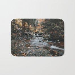 Autumn Creek - Landscape and Nature Photography Bath Mat