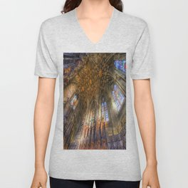 The Thistle Chapel St Giles Cathedral Edinburgh Unisex V-Neck