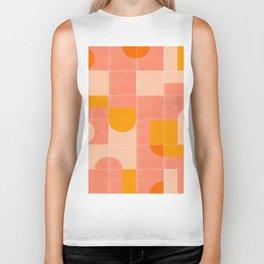 Retro Tiles 03 #society6 #pattern Biker Tank