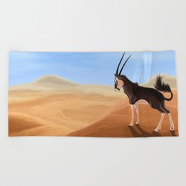 Arid Beach Towel
