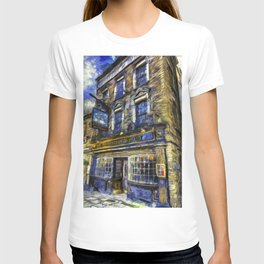 The Prospect Of Whitby Pub Art T-shirt