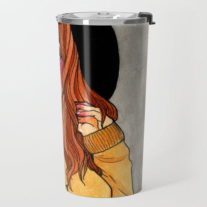 Fall Witch Travel Mug