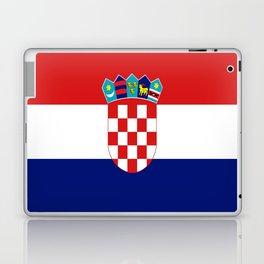 Flag of croatia -croatian, Hrvatska,croat,croacia,Zagreb,split,rijeka,osijek. Laptop & iPad Skin