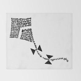 Kite Throw Blanket