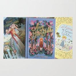 Anne of Green Gables Books Rug