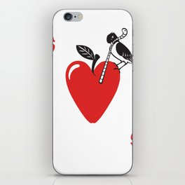 Clipped Wings Deck: The Ace of Hearts iPhone Skin