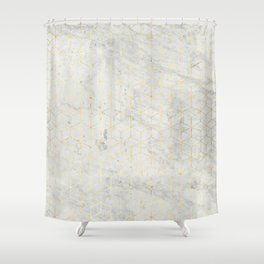 gOld 3D Shower Curtain