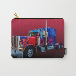 American Truck Red Carry-All Pouch