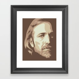 Tom Petty Framed Art Print