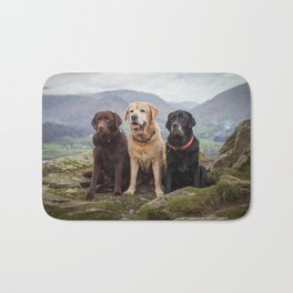 Labradors Bath Mat