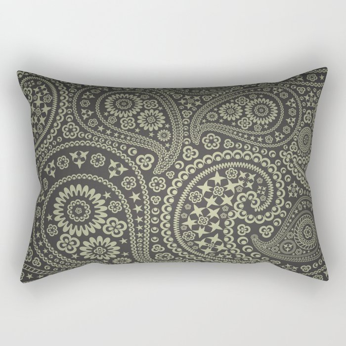 Paisley Stars Rectangular Pillow