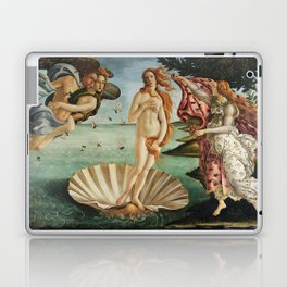 The Birth of Venus by Sandro Botticelli, 1445 Laptop & iPad Skin