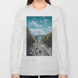 Lions Gate Bridge Long Sleeve T-shirt
