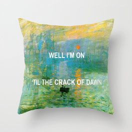 Pass The Sunrise Throw Pillow