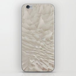 Just white iPhone Skin