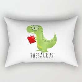 Thesaurus Rectangular Pillow