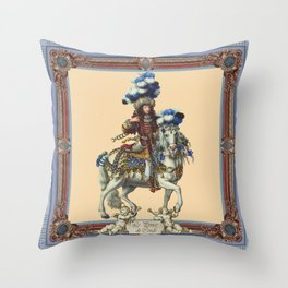 Prince de Conde Throw Pillow