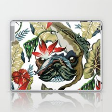 Tropical Pug Laptop & iPad Skin