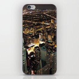 Chicago City Skyline iPhone Skin