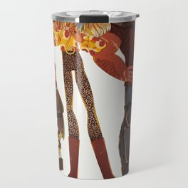 Here There Be Gerblins Travel Mug