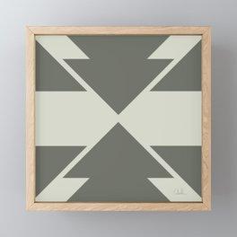 Sage Arrow Framed Mini Art Print