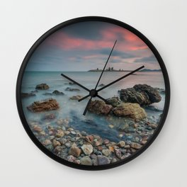 sea nature beach 4 Wall Clock
