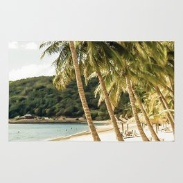 Paradise beach Rug