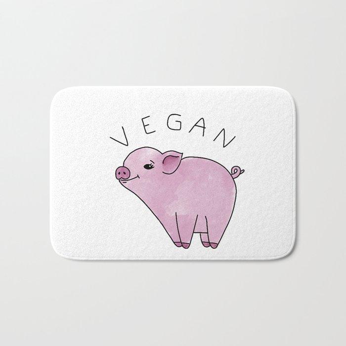 Vegan Pig Bath Mat